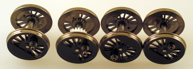 Drive Wheel Assembly - Shiny (HO Scale Class J 4-8-4)