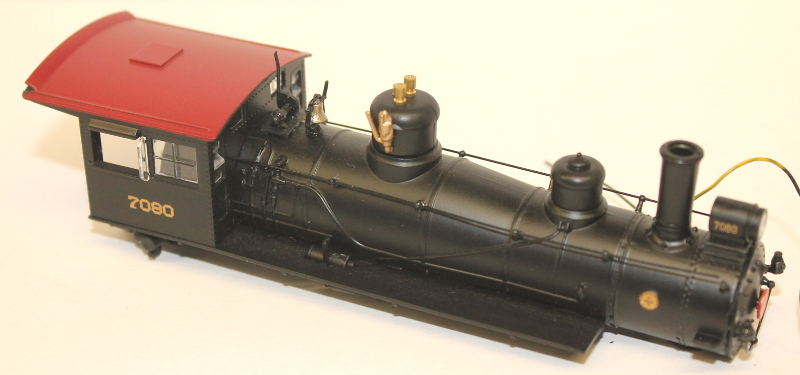 Loco Shell - PRR #7080 (HO 4-6-0 Baldwin) - Click Image to Close