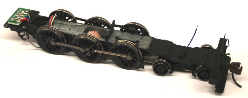 Chassis w/Drive Wheel Assembly (HO 4-6-0 Baldwin)