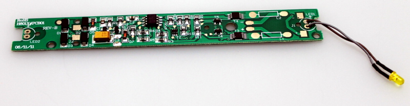PCB w/ LED (A Unit) (HO RF-16)