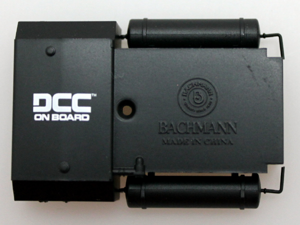 FUEL TANK w/ DCC Logo-Black (HO RS-3)