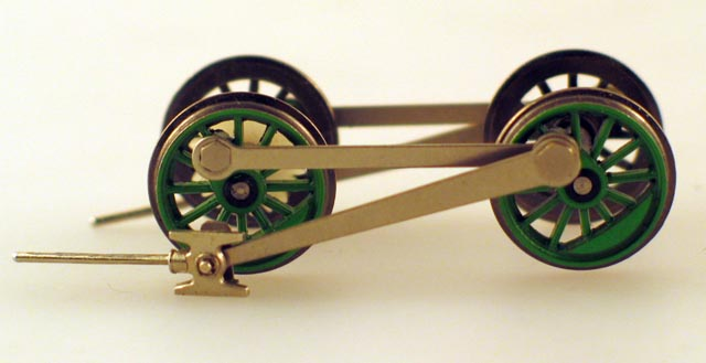 Drive Wheel Assembly w/Rods (HO Percy)