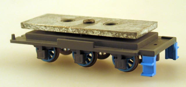 Tender Chassis w/Wheels (HO Gordon)