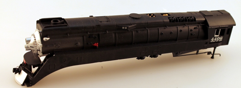 Loco Shell - Southern Pacific War Baby (HO GS4 4-8-4)