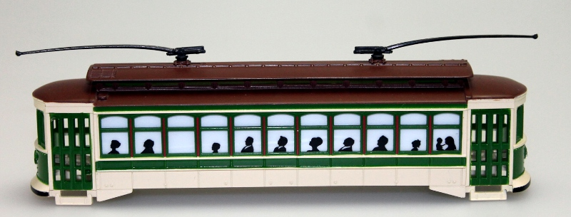 Body Shell Green (HO Brill Trolley)