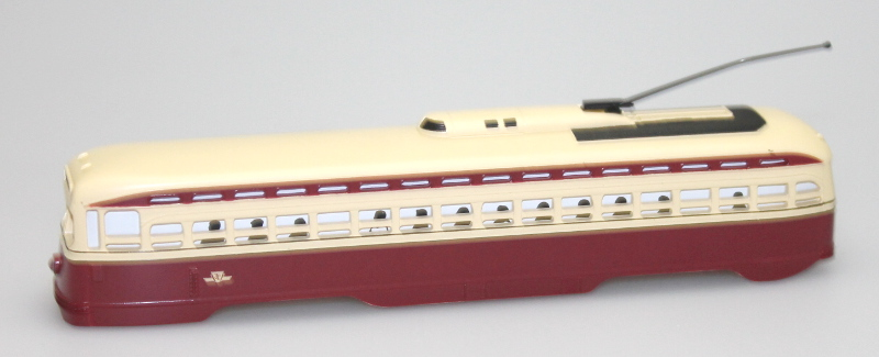 Body Shell - Toronto Transit (PCC Trolley)(HO Scale)