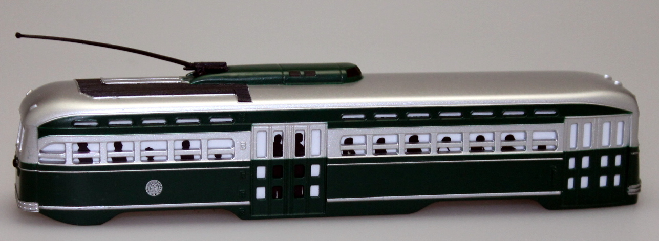 Body Shell - Brooklyn Queen Transit (HO PCC Trolley)