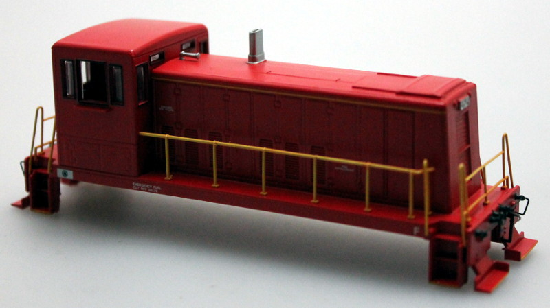 Shell - Unlettered Red (HO 70 Ton)