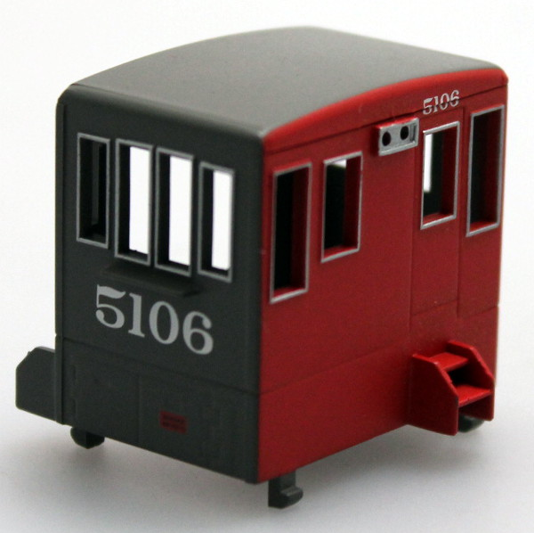 Cab - Grey/Red #5106 (HO 70Ton)