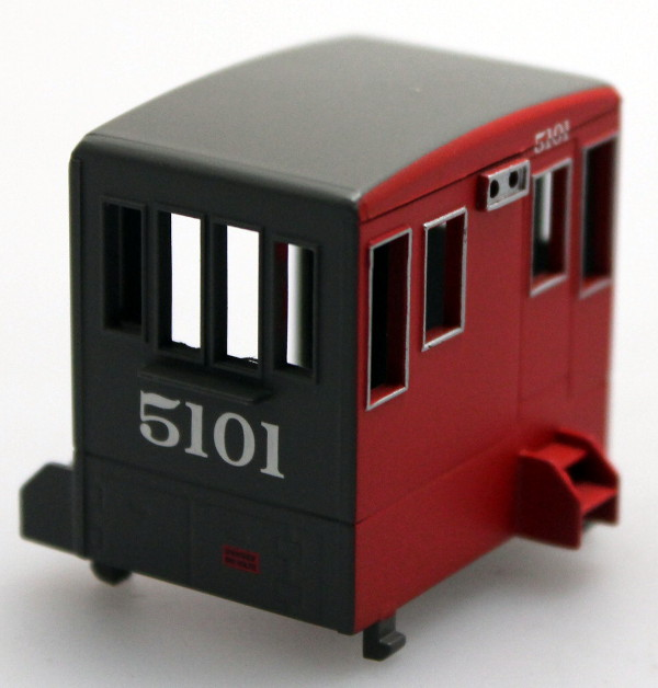 Cab - Grey/Red #5101 (HO 70Ton)