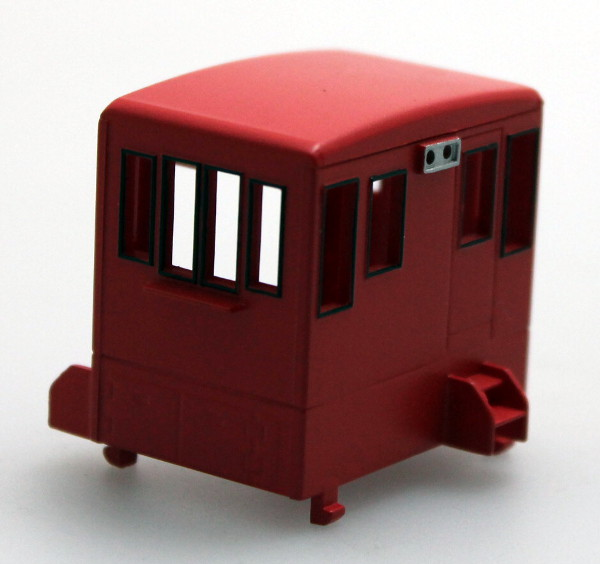 Cab - Unlettered, Red (HO 70Ton)