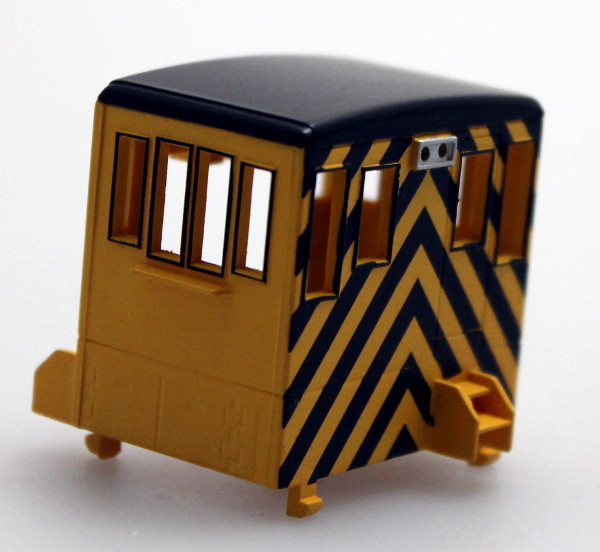 Cab - Unlettered, Yellow/Black (HO 70Ton)