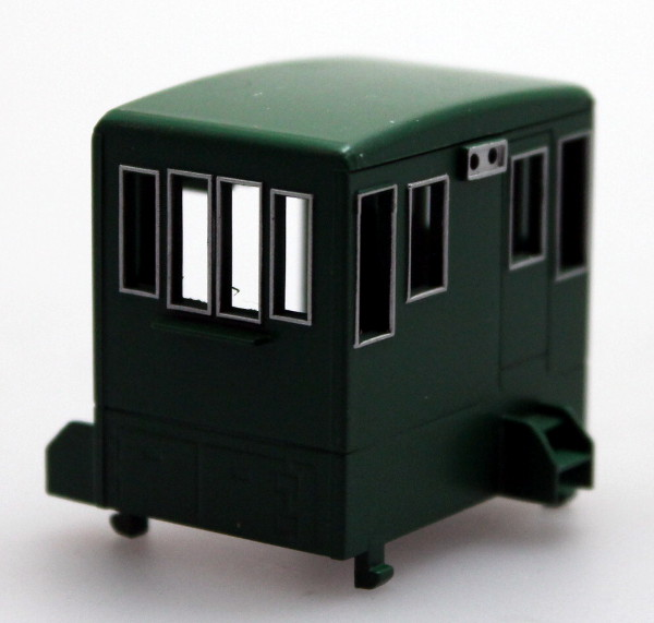 Cab - Unlettered, Green (HO 70Ton)