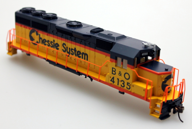 Shell - Chessie #4135 (HO GP40)