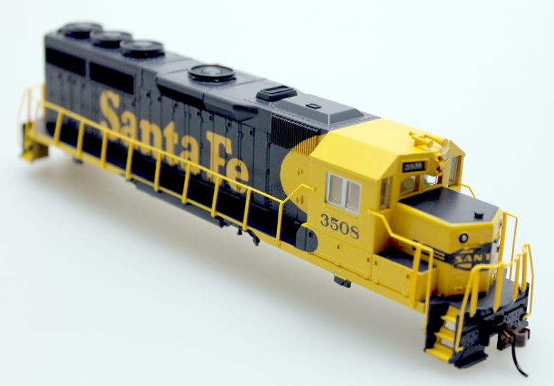 Shell - Sante Fe #3509, Blue & Yellow (HO GP40)