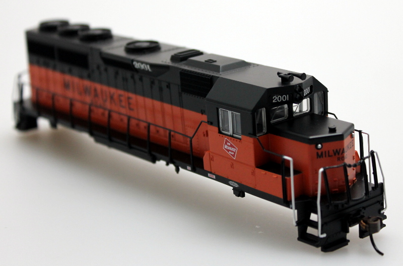 Shell - Milwaukee Road #2001 (HO GP40)