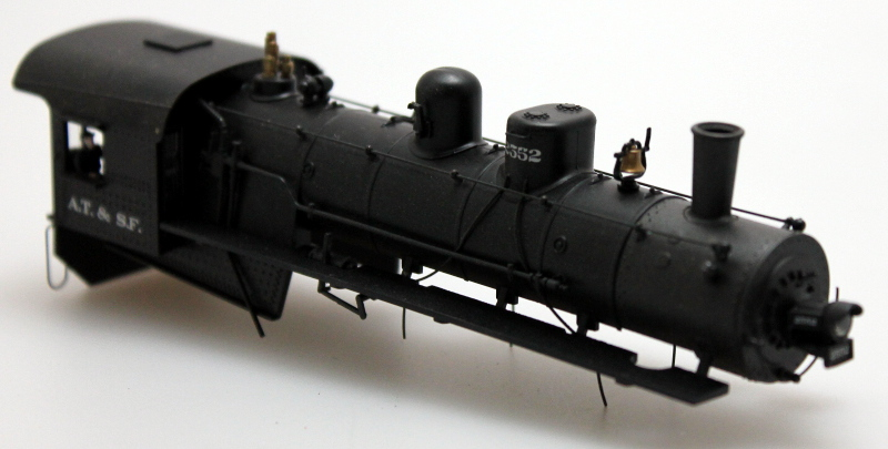 Loco Shell - AT & SF #2552 (HO Decapod 2-10-0)