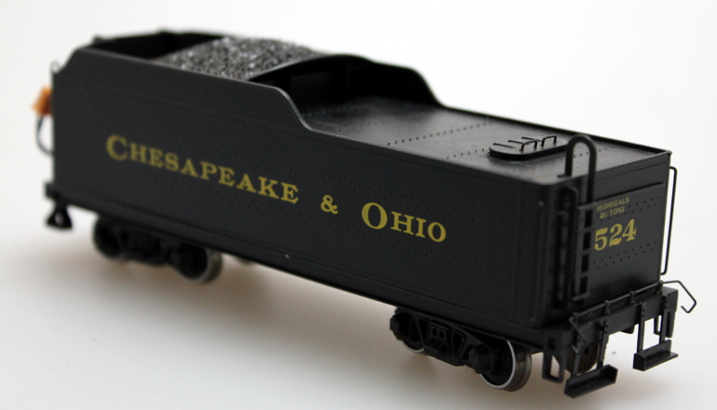 Complete Tender - Chesapeake & Ohio #1524 (HO 2-6-6-2)