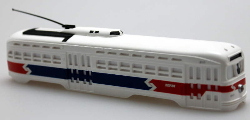 Body Shell - Septa (Philadelphia) (HO PCC Streetcar)