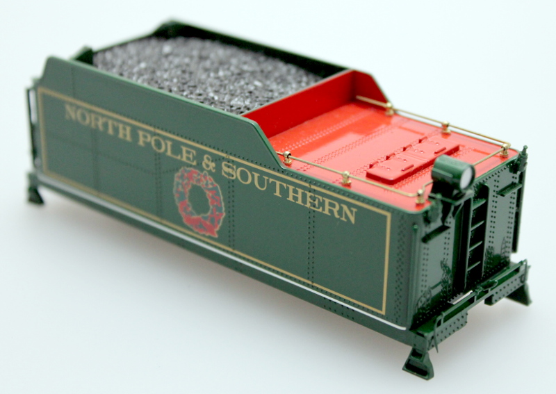 Tender Shell (Short Haul) N. Pole & So. (HO 0-6-0/2-6-0/2-6-2) - Click Image to Close
