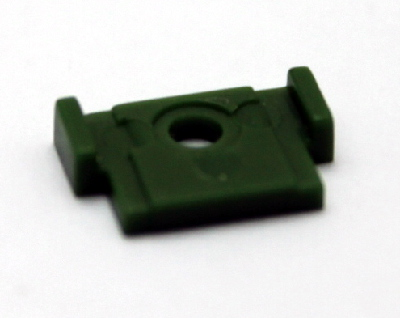 Coupler Cover - Green (HO SD40-2)
