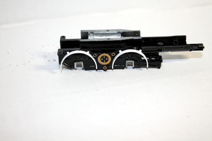 Loco Chassis frame Black ( HO 4-4-0 DCC ready and SV )
