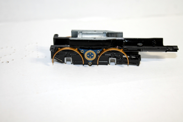 Loco Chassis frame Blue ( HO 4-4-0 DCC ready and SV )