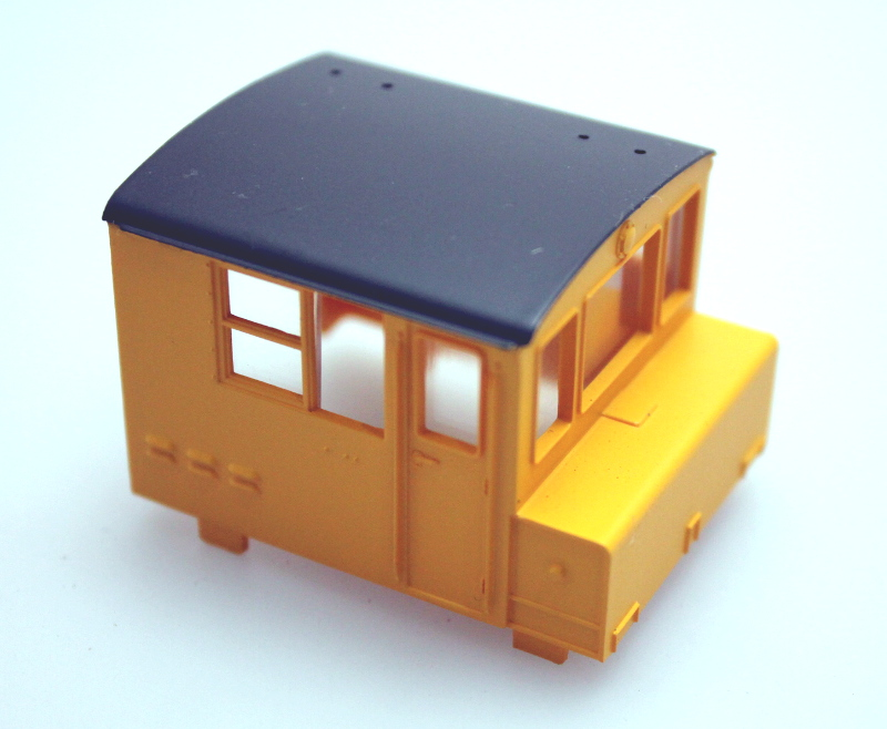Cab Shell - Industrial Yellow (HO MDT)