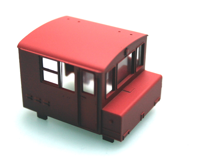 Cab Shell - Industrial Red (HO MDT)