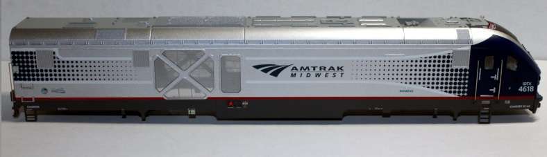 Loco Shell- Amtrak MidWest #4618 ( SC44 Charger )