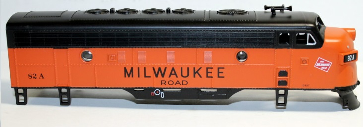 Body Shell - Milwaukee Road #82A (HO F7-A)