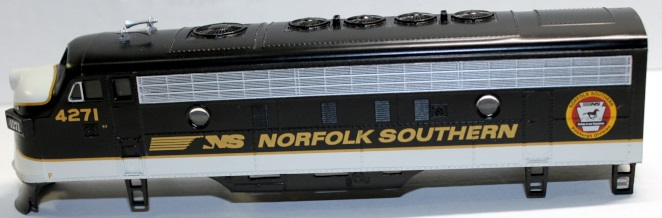 Body Shell- Norfolk Southern Pittsburgh Div #4271 ( HO F7-A )