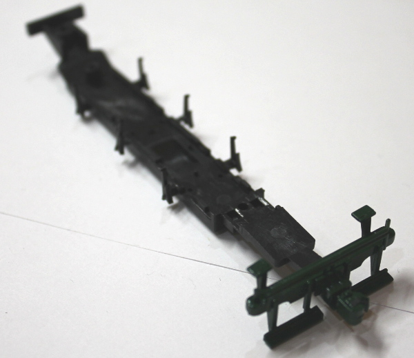 Chassis Underframe - Green (HO 0-6-0/2-6-0/2-6-2)
