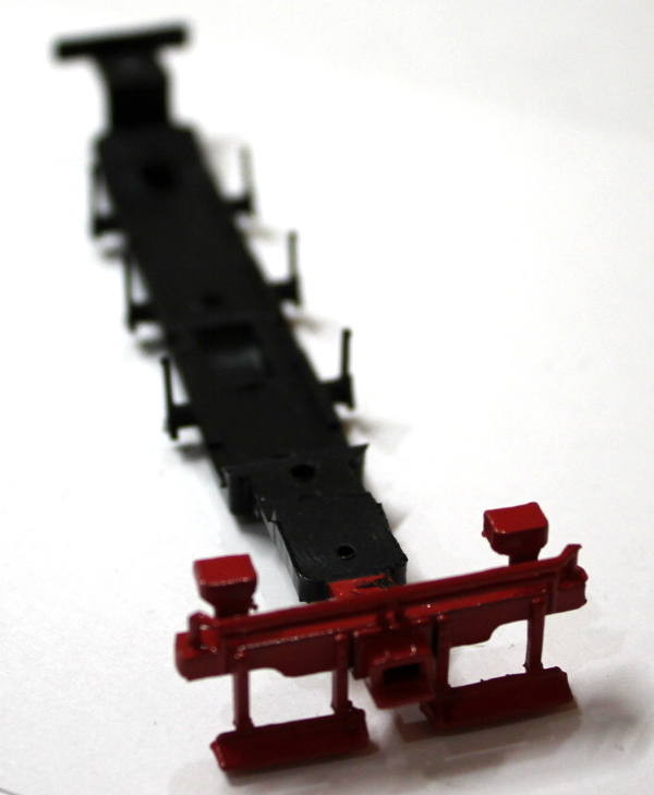 Chassis Underframe - Red (HO 0-6-0/2-6-0/2-6-2)