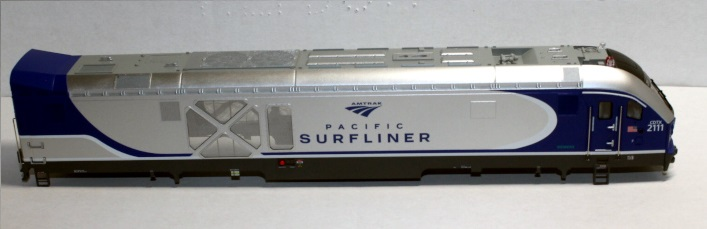 Loco Shell- Amtrak Pacific Surfliner # 2111 ( SC44 Charger )