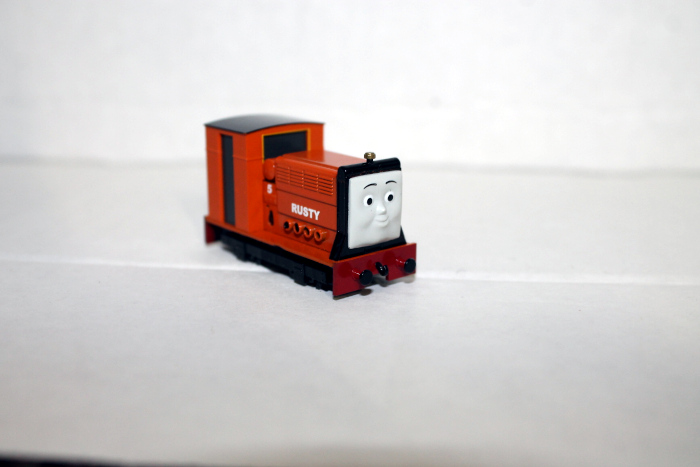 Rusty Body shell w/ Face plate ( HO Narrow gauge Rusty)