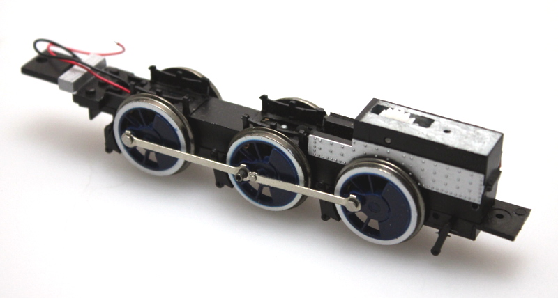 Complete Chassis - Blue Wheels (ON30 2-6-0)
