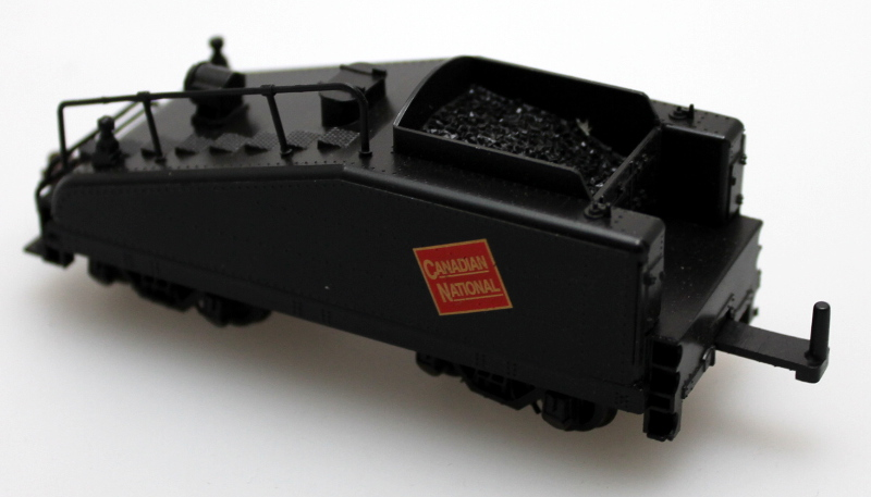 Tender Complete (Slope)-Canadian National(HO 0-6-0/2-6-0/2-6-2)