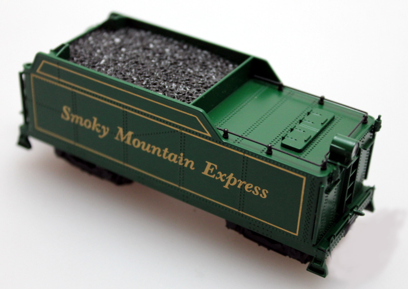 Tender Complete-Smokey Mt. Express (HO 0-6-0/2-6-0/2-6-2 S.H.)