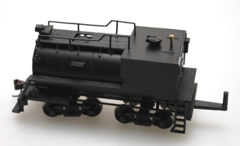 Tender Complete-Unlettered (HO 0-6-0/2-6-0/2-6-2 Vandy)