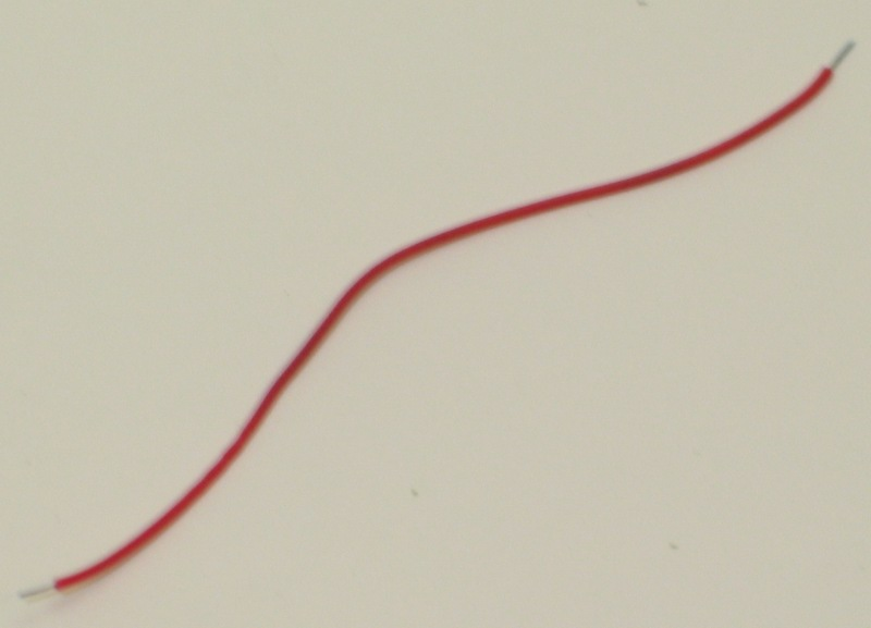 Truck Wire-Red (HO GP40/GP50)