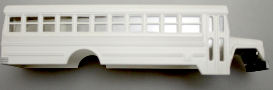 High rail bus shell