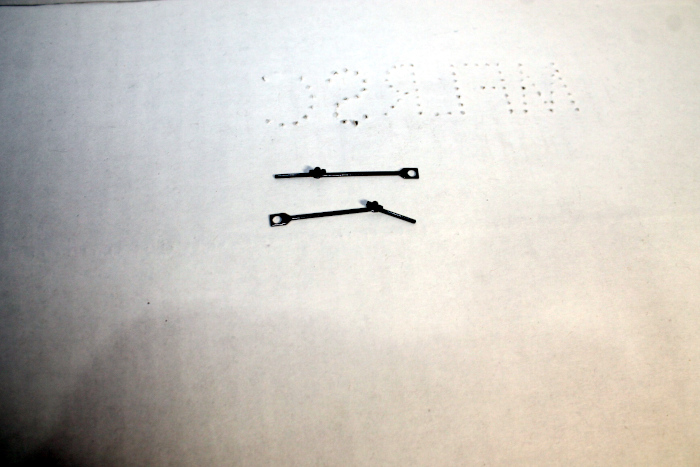 Drive rods pair ( HO 4-4-0 DCC Ready and SV )