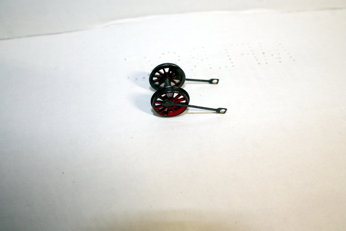 None Geared wheel w/ rods ( HO 4-4-0 DCC ready and SV )