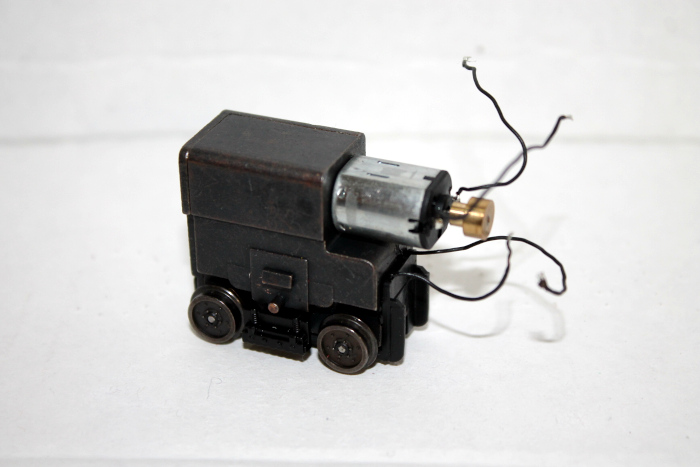 Power Truck w/ motor ( HO PCC SOUND VALUE )