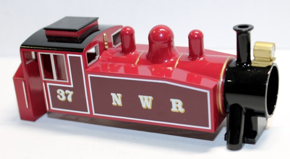 Rosie Red Loco Shell ( HO Scale Rosie Red )