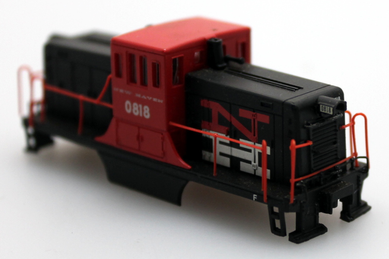 Shell - New Haven #0818 (N Scale 44Ton)