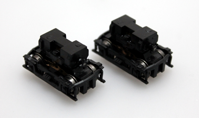 Truck w/Worm - Black [Pair] (N RS-3)