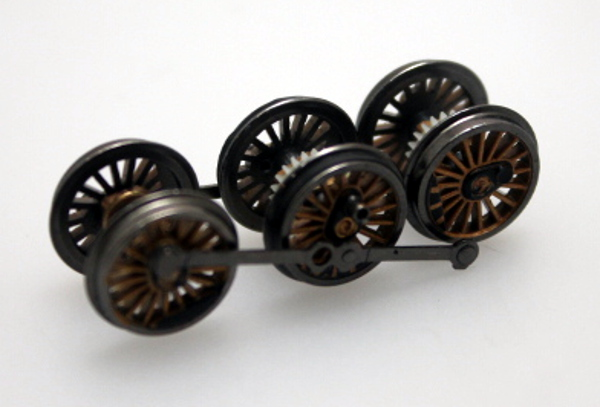 Drive Wheel Assembly - Gold (N Scale K4 4-6-2)