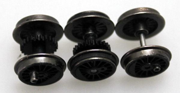 Drive Wheels-Black (N 4-6-0)